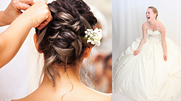Entertainment News - Bride Devastated Over The Very Wrong Way A Hairdresser Styled Her Hair