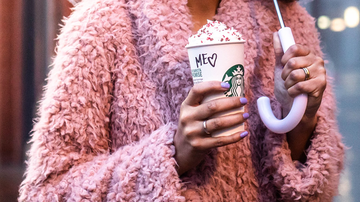 Trending - Starbucks Is Serving Special Cherry-Flavored Mocha For Valentine's Day