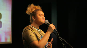 Ethan Cole - Rachel Crow at Channel 933 SDCCU Red Carpet Room