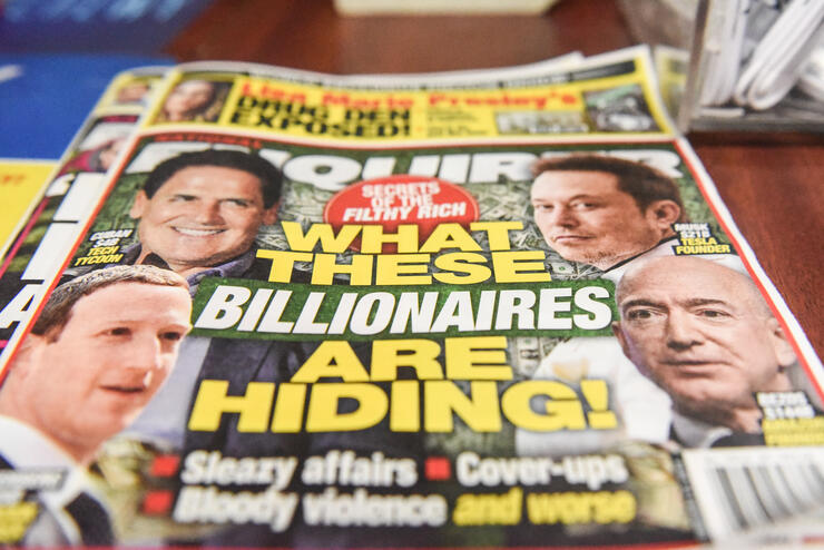 Jeff Bezos accuses parent company of National Enquirer of trying to blackmail him