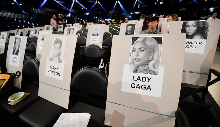 2019 Grammys Seating Chart See Who S Sitting Next To