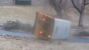 Todd - VIDEO: Bus Flips Over On The Ice... OUCH