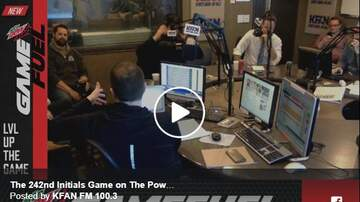 The Power Trip - WATCH: The Initials Game LIVE Camera Feed - Game 242