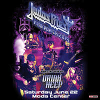 Win A Pair Of Tickets To See Judas Priest June 22nd at Moda Center!