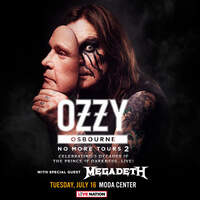 Enter To Win A Pair Of Tickets To See Ozzy Osbourne at Moda Center July 16th!