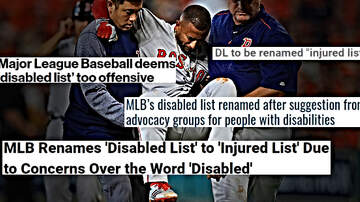 Outkick The Coverage with Clay Travis - MLB Deems 'Disabled List' Too Offensive a Term