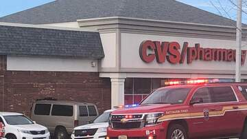 None - A van crashed into the CVS on Langhorne Road in Lynchburg