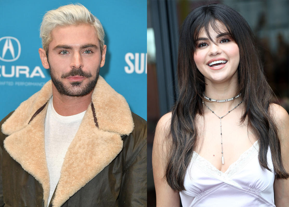 Are Zac Efron and Selena Gomez Hooking Up?