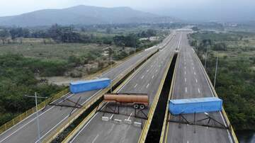 Lucyl Bee - Gobierno de Maduro bloquea entrada de ayuda humanitaria a Venezuela.