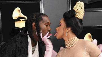 iHeartRadio Spotlight - Cardi B & Offset Tongue Kiss On The 2019 Grammys Red Carpet