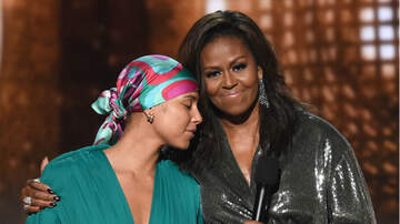 Entertainment - Michelle Obama Makes Surprise Appearance At 2019 Grammy Awards