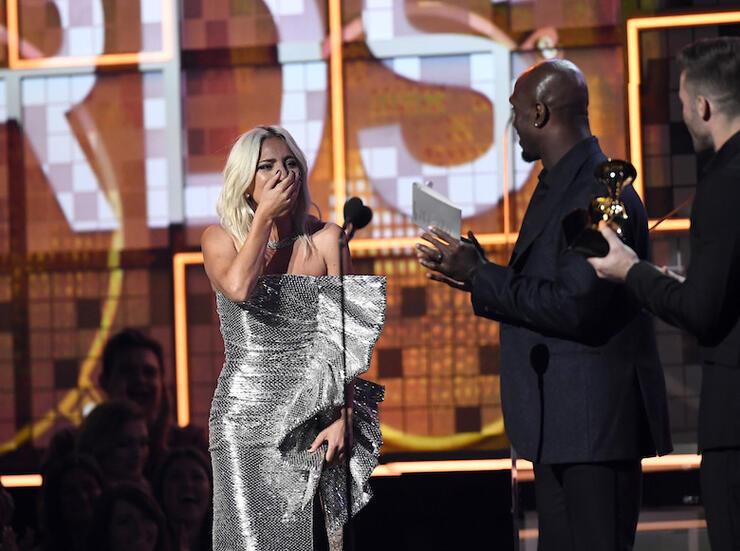 Lady Gaga Wins A Grammy 2019