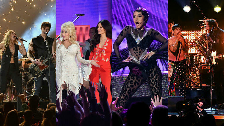 2019 61st Grammy Awards: 2019 Grammys: Dolly Parton Gets Honored, Cardi B Makes