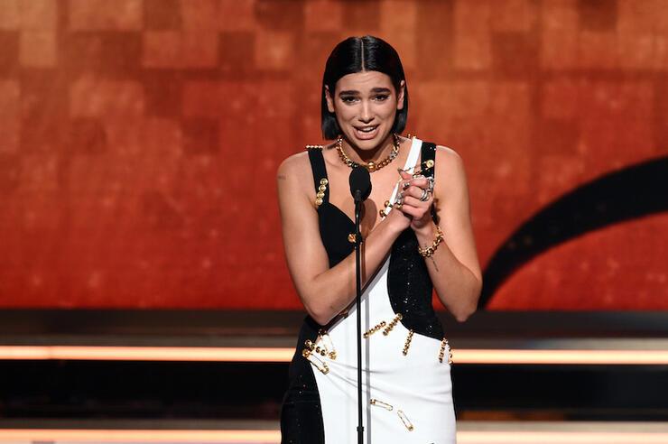 Dua Lipa wins Best New Artist during 2019 Grammys