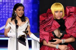BET SHADES Nicki Minaj Post Cardi B Grammy Win!