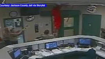Matty in the Morning - Inmate Falls Through Ceiling During Escape