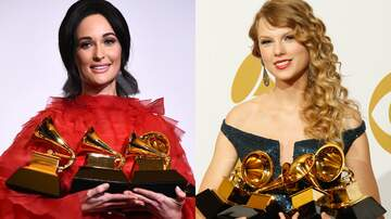 iHeartRadio Spotlight - Kacey Musgraves & Taylor Swift Won The Same Four Grammys In One Night