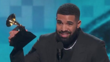 Chuck Dizzle - Drake's Message After Winning Best Rap Song For God's Plan at GRAMMYs