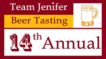 None - 14th Annual Team Jenifer Beer Tasting