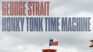 Frankie D - Honky Tonk Time Machine makes it the 27th #1 for king George, album wise!