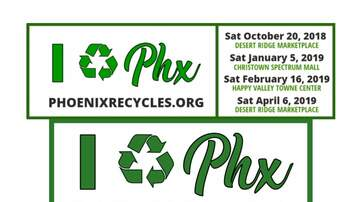 Marty Manning - Recycle Phoenix!  This weekend at Happy Valley Rd & I-17!