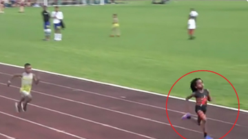 BC - Watch How Fast This 7-Year-Old Runs
