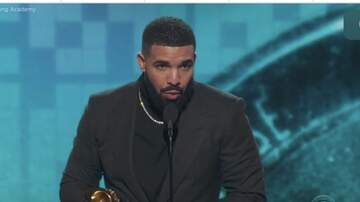 Sonya Blakey - Rapper Drake delivered the inspiration at the Grammy's!
