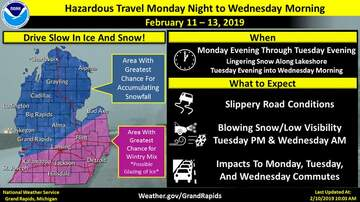 West Michigan Live Blog (54882) - WML Show Notes, Monday: Ice Coming, Perfect Weather For Phishing, VA Chaos