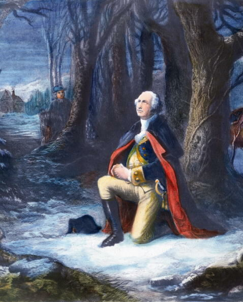 George Washington Letter About God & Liberty Surfaces