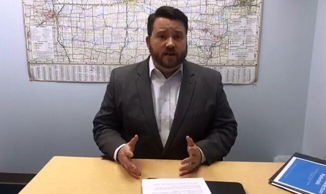 Iowa Democratic Party Chair Troy Price VIDEO