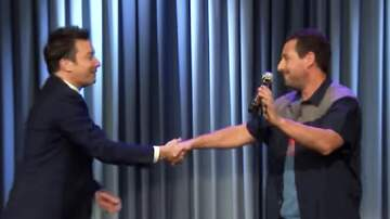 Patrick Sanders - Adam Sandler Asks Fallon To Break Up With Timberlake In VDay Song