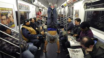 Wendy Wild - Woman Completely Shows Up NYC Subway 'Showtime' Dancers