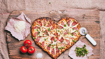 Courtney Lane - How to get heart-shaped pizza for Valentine's Day!
