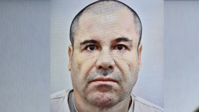 Mexican drug kingpin Joaquin 'El Chapo' Guzman