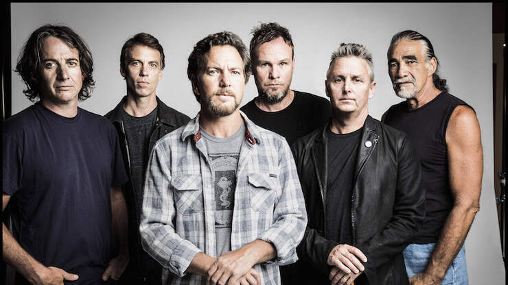 Pearl Jam Is Ensuring 300 Food Banks Stay Stocked During COVID-19 Crisis | 104.3 MYFM