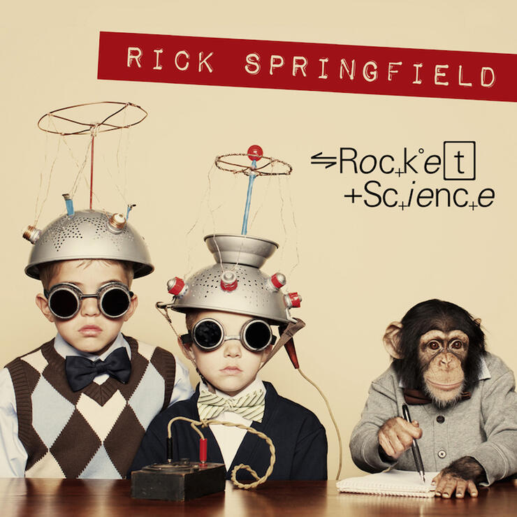 Rick Springfield - 'Rocket Science' Album Cover