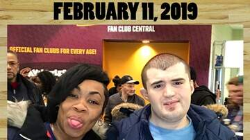 Photos - REAL 106.1 at the Cavs Game Monday February 11th