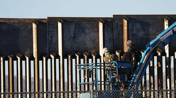 The Pursuit of Happiness - Border Wall Construction Currently Happening in Texas