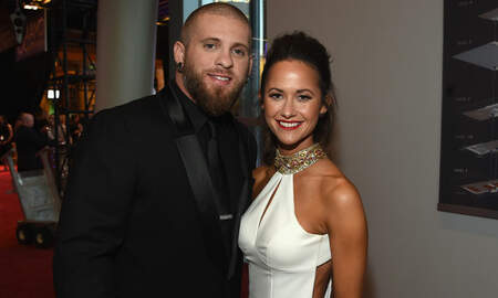 Music News - Brantley Gilbert Always Knew His Wife Amber Was The One