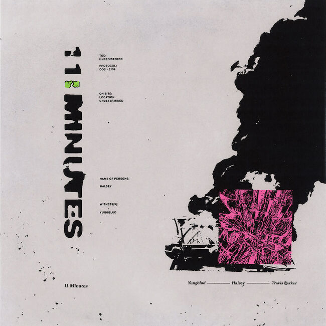 "Yungblud & Halsey featuring Travis Barker - ""11 Minutes"""