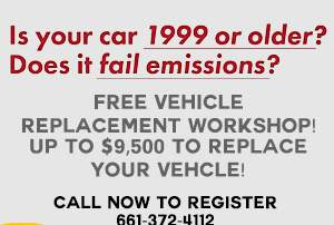 None - Valley CAN: FREE Vehicle Replacement Workshop