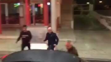 Jake Dill - Man Runs All Across the Street to Smash Head into Punching Game