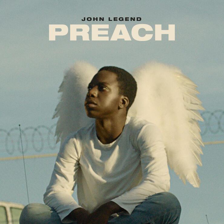 "John Legend - ""Preach"" Cover Art"