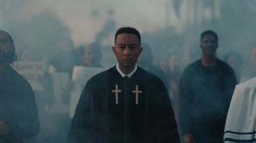 Entertainment - John Legend Addresses Border Control & More in Powerful Preach Video