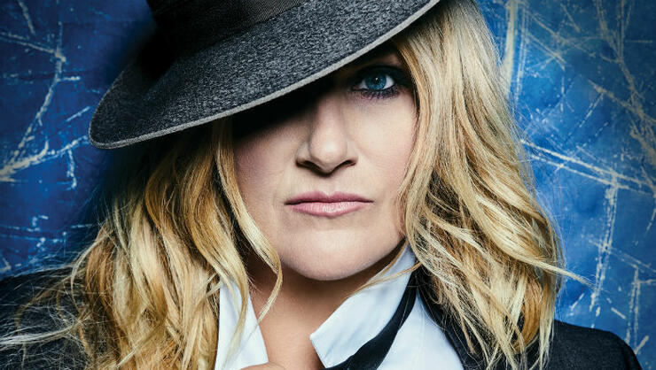Trisha Yearwood - 'Let's Be Frank' Album Cover Art