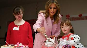 The Joe Pags Show - First Lady spends Valentine's Day with hospitalized children