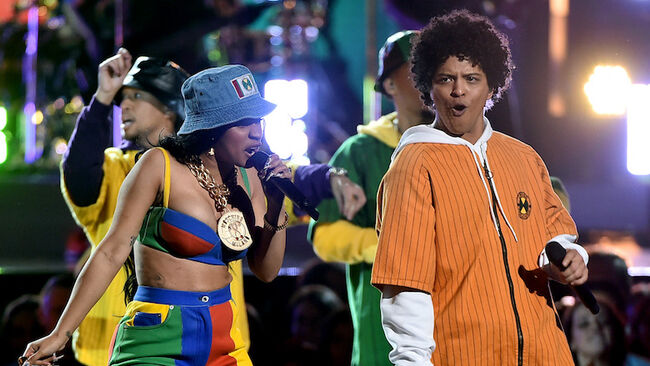 Cardi B & Bruno Mars Get Sexy On Sensual New Song 'Please Me