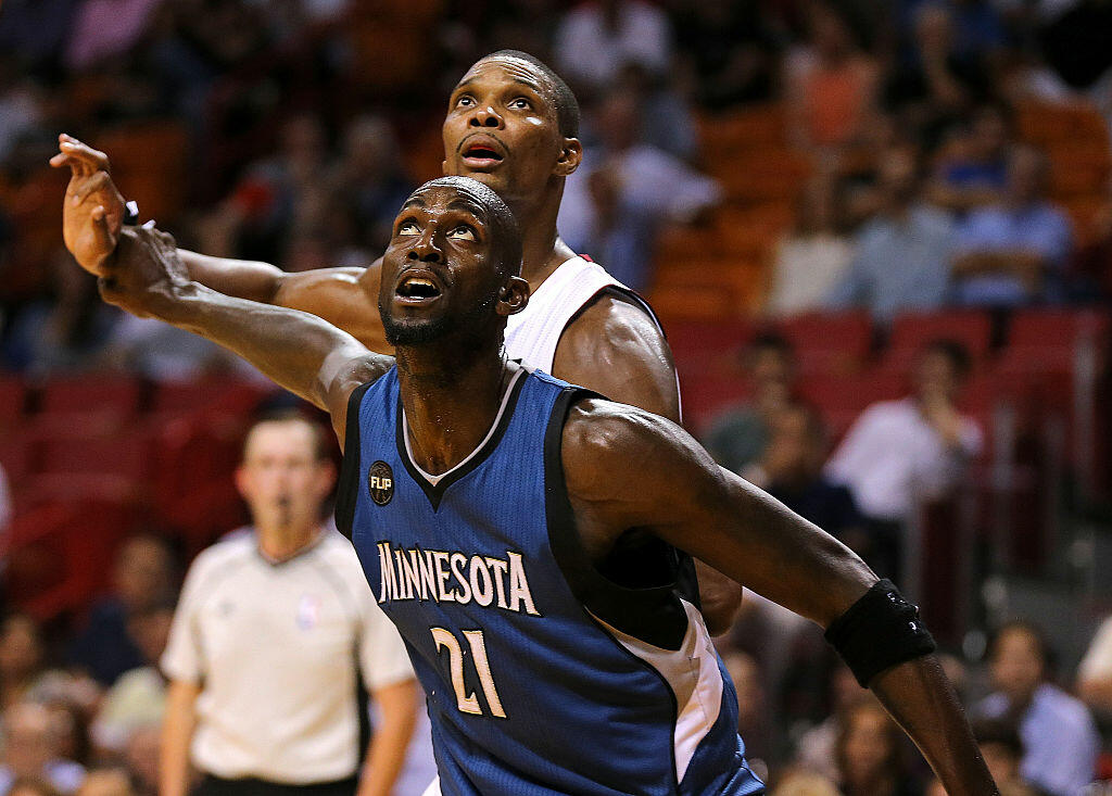 Chris Bosh shares how Kevin Garnett's trash talking completely ruined him