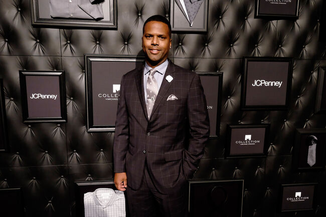 JCPenney and Michael Strahan Launch Collection by Michael Strahan NEW YORK, NY - SEPTEMBER 30: A. J. Calloway attends JCPenney and Michael Strahan's launch of Collection by Michael Strahan on September 30, 2015 in New York City. (Photo by Dimitrios Kambouris/Getty Images for JCPenney)