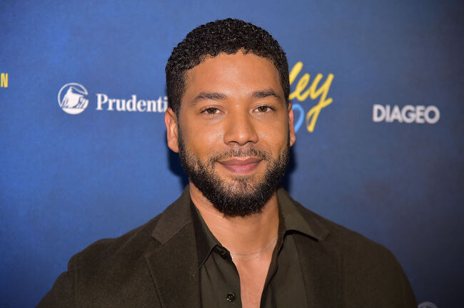 Alvin Ailey American Dance Theater's 60th Anniversary Opening Night Gala Benefit NEW YORK, NY - NOVEMBER 28: Jussie Smollett attends the Alvin Ailey American Dance Theater's 60th Anniversary Opening Night Gala Benefit at New York City Center on November 28, 2018 in New York City. (Photo by Theo Wargo/Getty Images)